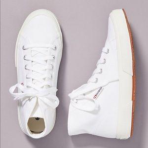 Superga High Top Classic Sneakers   NWT